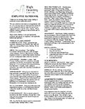 Microsoft Word - High Country Staffing Handbook 2012